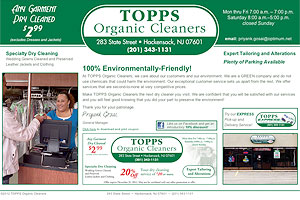 KIARO Computer Solutions hosting Topps Organic Cleaners